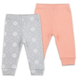 The Peanut Shell The Baby Girl 2 Pack Pants Set