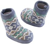 Carter's Baby Boy Knit-In Slipper Sock Crib Shoes