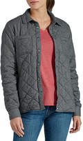 Dickies Misses Quilted Flannel Shirt Jacket Flannel Midweight Quilted Jacket
