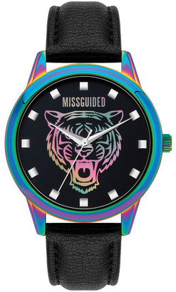 Missguided MG037BUP Black Iridescent