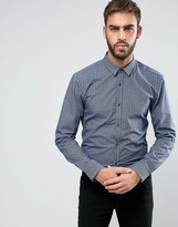 HUGO BOSS HUGO by Ero 3 Circle Print Shirt Slim Fit