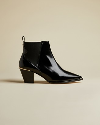 Ted Baker RILANNI High shine western leather boots