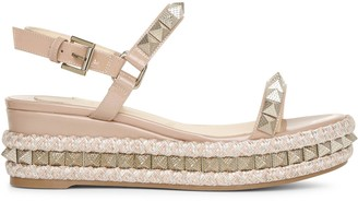 Christian Louboutin Pyraclou 60 patent after sun wedges