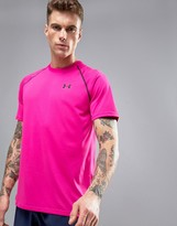 Under Armour Tech T-Shirt In Pink