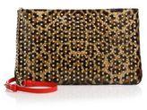 Christian Louboutin Posh Leopard Print Leather Crossbody Bag