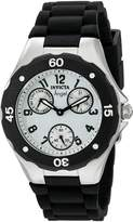 Invicta Women's 0733 Angel Collection Black Polyurethane Watch