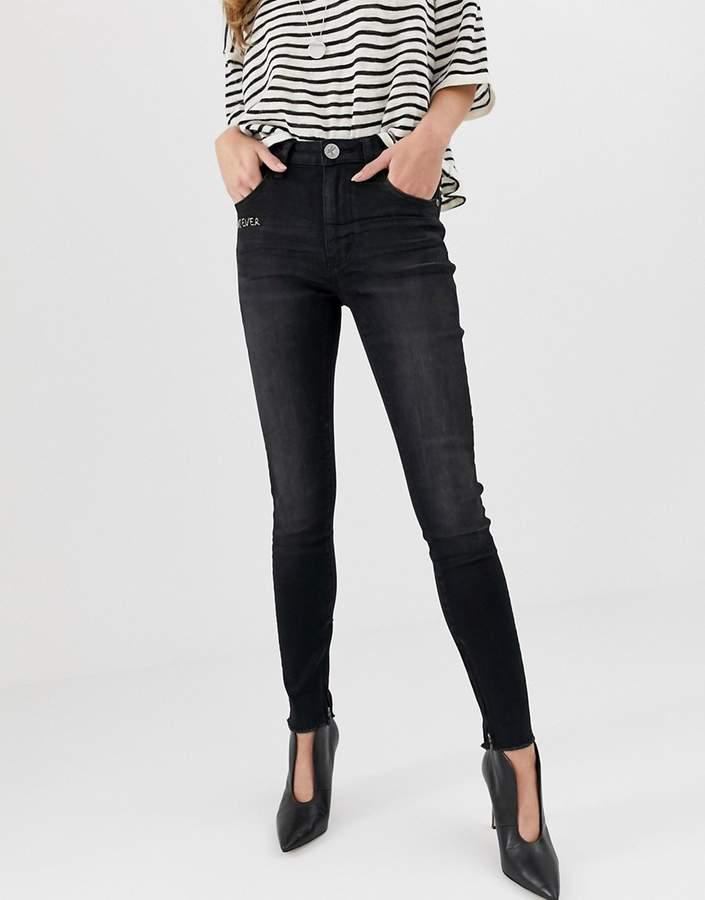 One Teaspoon Freebird high rise skinny jeans