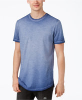 American Rag Men's Ombré Washed Elongated T-Shirt, Only at Macy's