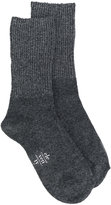 Eleventy ribbed knit socks