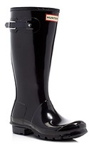 Hunter Unisex Gloss Original Kids Classic Rain Boots - Little Kid, Big Kid
