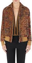 Saint Laurent Women's Tapestry Bomber Jacket