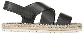 Vince Tenison Leather Platform Sandals
