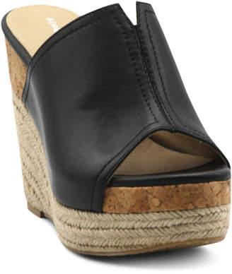Adrienne Vittadini Cherli Platform Wedge Sandals Women Shoes