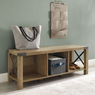 Marvelous Entry Bench With Storage Shopstyle Onthecornerstone Fun Painted Chair Ideas Images Onthecornerstoneorg