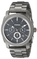 Fossil Men's FS4662 Machine Chronograph Stainless Steel Watch - Smoke