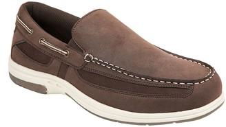 Deer Stags Men's Memory Foam Boat Shoe Loafers- Bowen