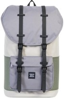 Herschel Men's Little America Offset Backpack - White