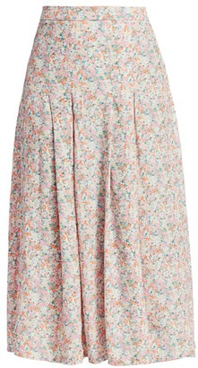 Faithfull The Brand Cuesta Floral Midi Skirt