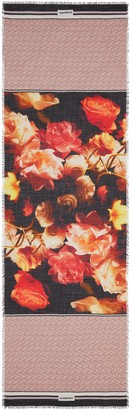 Burberry Floral Scarf