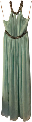 Galliano Blue Silk Dresses