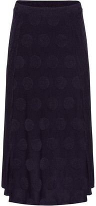Phase Eight Marion Jacquard Spot and Stripe Skirt