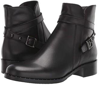 La Canadienne Sailor (Black Leather) Women's Shoes