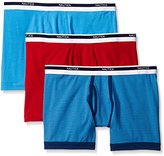 Nautica Men's 3-Pack Cotton Stretch Boxer Brief