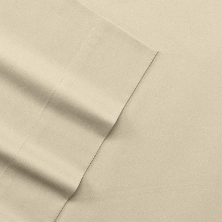Apt. 9 solid 220-thread count flat sheet - twin