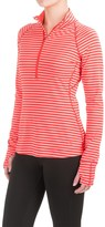Mountain Hardwear Butterlicious Stripe Pullover Shirt - UPF 50+, Zip Neck, Long Sleeve (For Women)