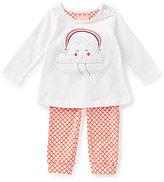 Joules Baby Girls Newborn-9 Months Cloud Top & Geo Print Jogger Set