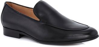 Ike Behar Men's Brett Leather Loafer Dress Shoes