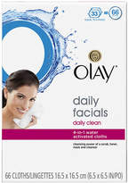 Olay Daily Clean 4-in-1 Water Activated Cleansing Face Cloths