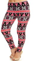 Leggings4U Women's New Trending Giraffe Spot Pattern Printed Plus Size Leggings