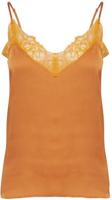 Ichi Taia Top - Russet Orange - S - Orange