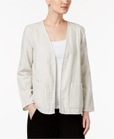 Eileen Fisher Organic Cotton Reversible Kimono Jacket