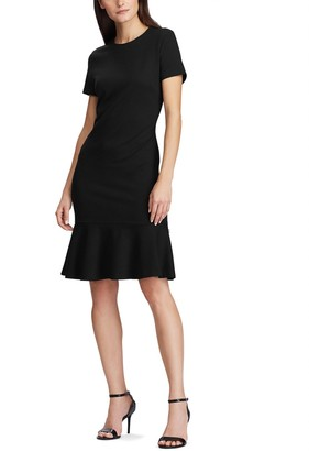 Lauren Ralph Lauren Short-Sleeved Midi Dress