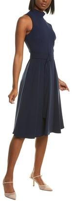 Black Halo Lylah Midi Dress