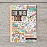 Retro Summer Travel Coloring Book