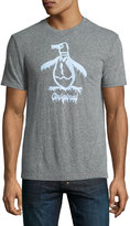 Original Penguin Frosty Pete Heathered Tee, Gray