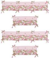 JoJo Designs Sweet Camo Pink Collection Crib Bumper