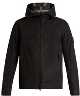 Stone Island Logo-patch Cotton Hooded Jacket