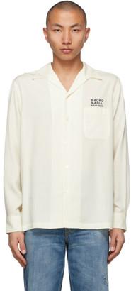 Wacko Maria White 50s Type-3 Shirt