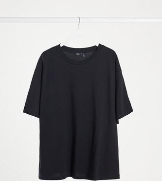 ASOS DESIGN Curve ultimate oversized t-shirt in black
