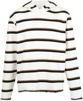 Osklen Riva striped hoodie