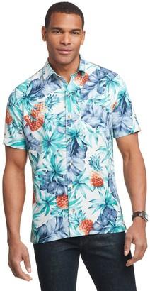 Van Heusen Men's Air Slim-Fit Tropical Button-Down Shirt
