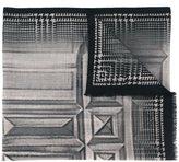 Etro geometric print scarf