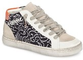 Dolce Vita Women's Zane Mid Top Multi Finish Sneaker