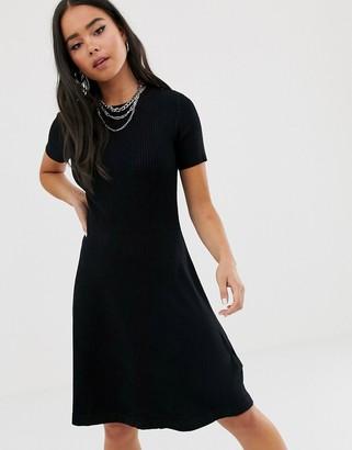 Noisy May short sleeve knit dress