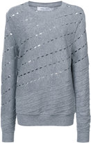 Prabal Gurung cut out detailed sweater