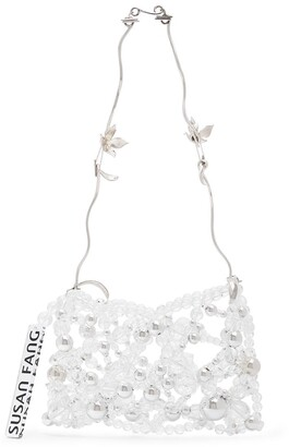Susan Fang Crystal Beaded Mini Bag